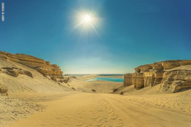 """مصور يرصد البحيرة """"المسحورة"""" في مصر.. وهذا سبب تسميته"""