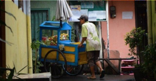 Pedagang Makanan Keliling