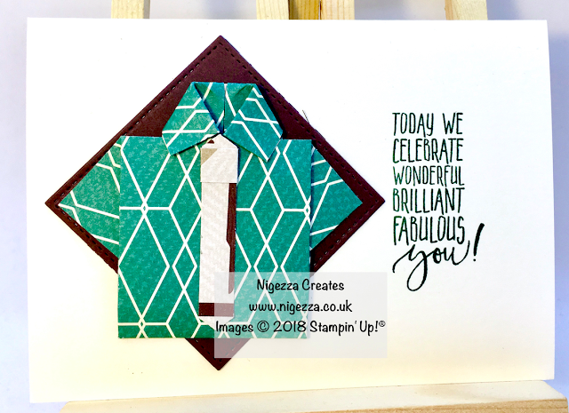 Stampin' Up!® True Gentleman Fathers Day card by Nigezza Creates