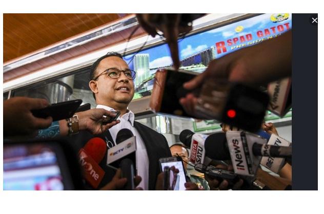 Jakarta Perduli Corona Pesan Gubernur DKI Jakarta Anies Baswedan Lengkap