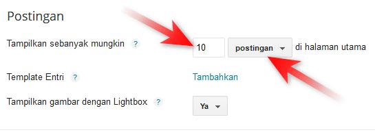 Mengatasi Postingan Blog yang Hanya Muncul Dua di Home Page