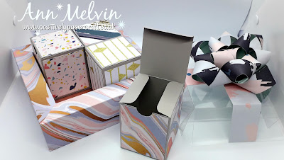 Positivelypapercraft shadow gift box tutorial