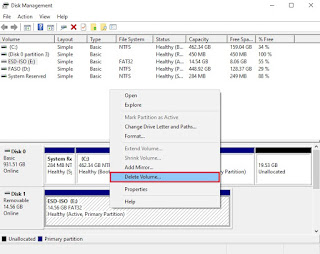 Create and Format Hard Disk Partitions.