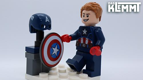 Captain America mit Zubehör - DAS KLEMMT