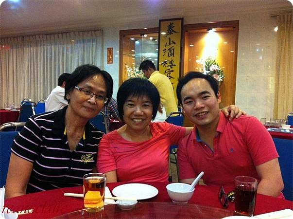 Caring Is Not Only Sharing...: Home Coming Reunion Dinner At Kok Thai Restaurant, Ipoh
