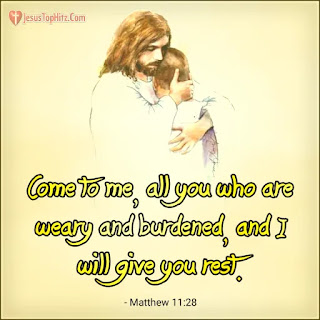 Today bible verse matthew 11:28