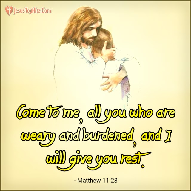 Today Bible Verse | 09-12-20 | Matthew 11:28-30