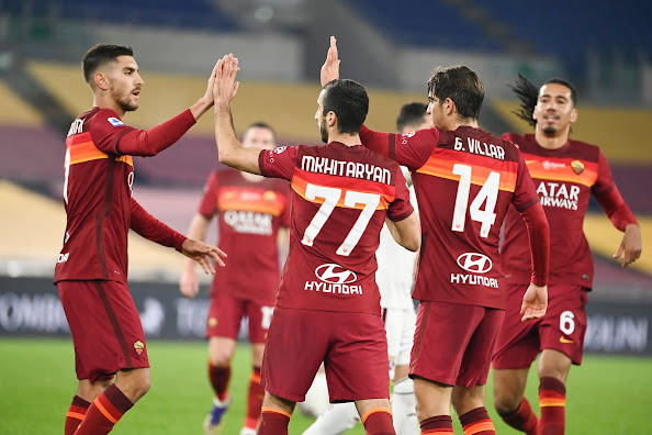 تشكيلة روما الرسمية لموجهة أتالانتا اليوم الاحد في الدوري الايطالي