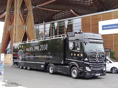 Mercedes-Benz Actros, IAA 2014