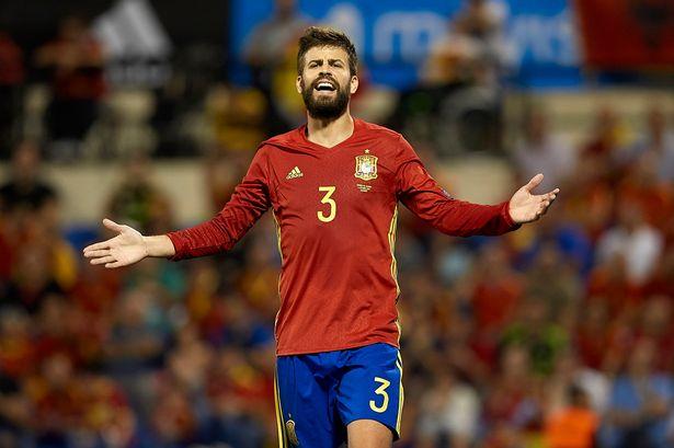TIM SPANYOL MENDAPAT SURAT DARI PIQUE UNTUK PENGUNDURAN DIRINYA