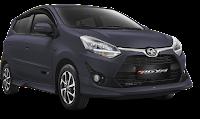 Toyota New Agya Medan abu abu