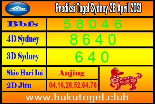 Prediksi Sydney 28 April 2021