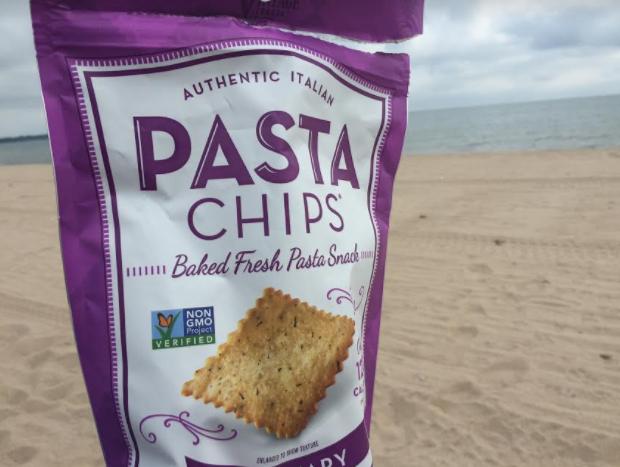 Rosemary Pasta Chips