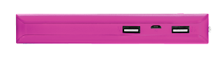 trust power bank caricabatterie portatile 10000 mah 22749