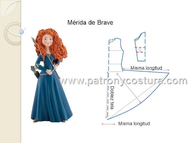 www.patronycostura.com/Mérida-de-brave-disfraz.Tema-200.html