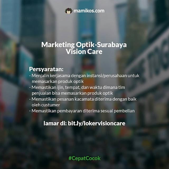 Marketing Optik-Surabaya Vision Care