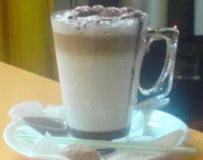 ice moccacino latte