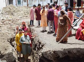 राजेन्द्र भवन पालीताणा में सर्वसुविधा युक्त धर्मषाला का निर्माण प्रारम्भ