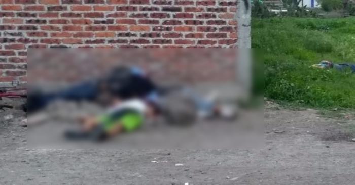 En dos ataques esta tarde Sicarios ejecutan a 4 personas y hieren a 2 mas en Salamanca; Guanajuato