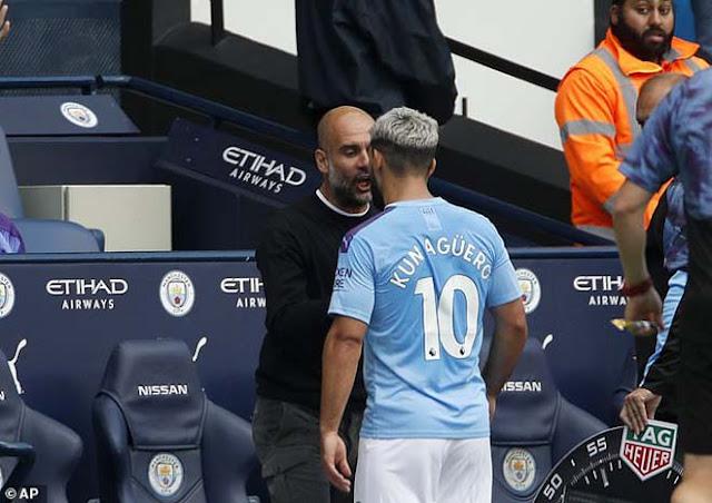 Chấn động Man City: Aguero cãi nhau với Pep Guardiola, phòng thay đồ dễ loạn 4