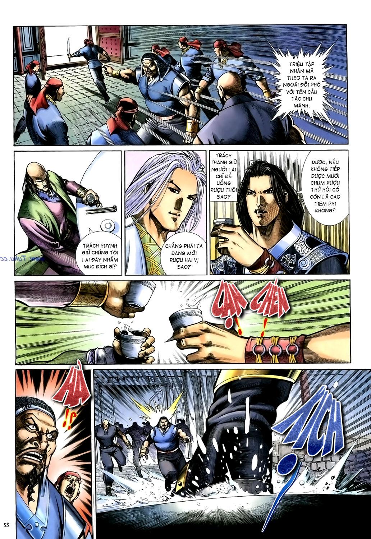 Anh hùng vô lệ Chap 15: Hổ thét long gầm người cạn chén  trang 23