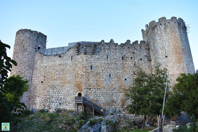 Castillo cátaro de Villerouge-Termenès, Francia