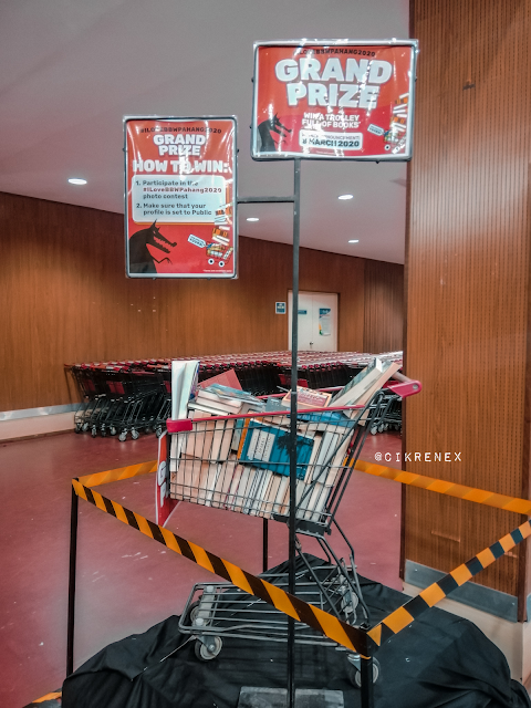 Big Bad Wolf Book Sale 2020 UMP Gambang