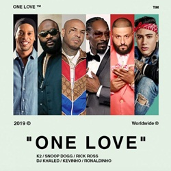 One Love - K2 feat. Snoop Dogg, Rick Ross, DJ Khaled, Kevinho e Ronaldinho Gaúcho Mp3