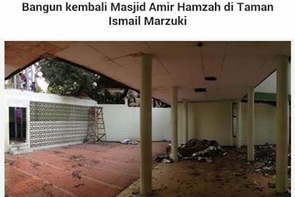 Ahok Robohkan Masjid di TIM, Sampai Sekarang Dibiarkan Tinggal Puing, Ahok Kamu Jahat!!