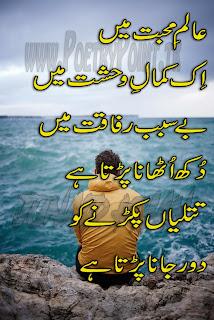 Noshi gilani sad poetry in udru