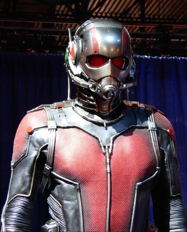Ant-Man movie costume detail