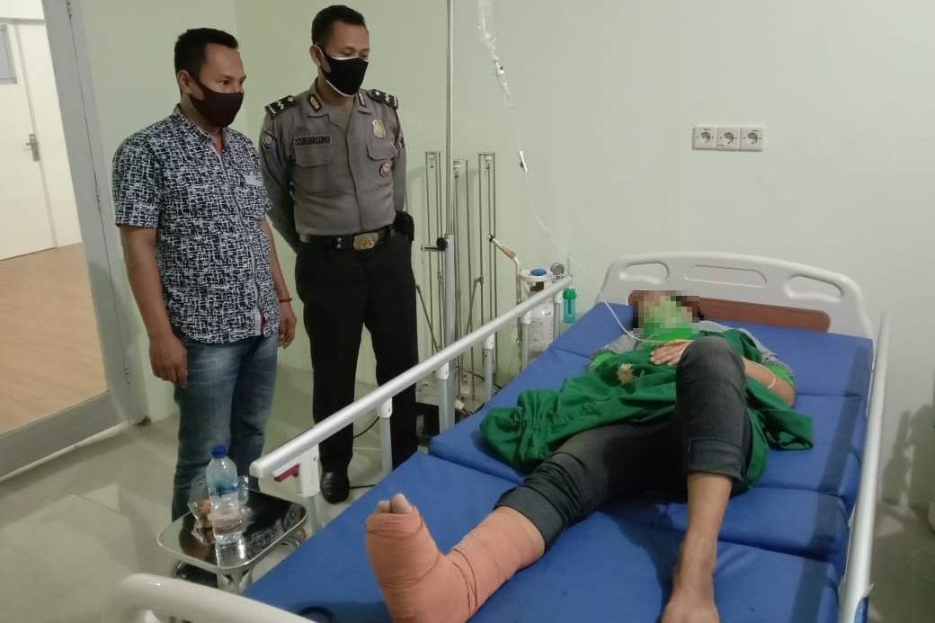 Tragis! Terduga Pencuri di Pasar Bobotsari Nekat Lompat Dari Lantai 2, Alami Retak Tulang