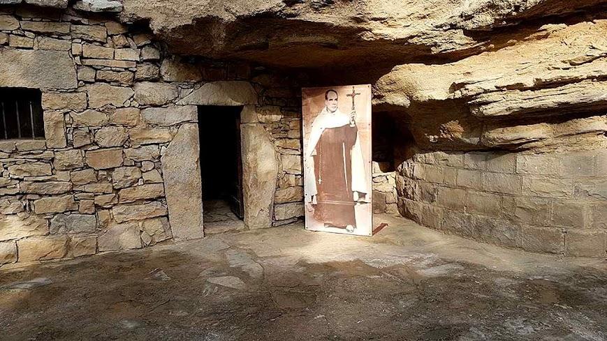 A 'Cueva del Padre Palau', Aitona, Espanha