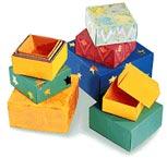 Folded-Paper Box