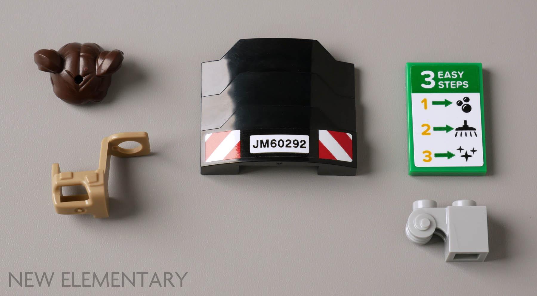 Lego 5 New Medium Azure Tiles Round 2 x 2 with Open Stud Pieces