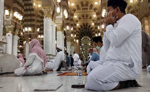 Masya Allah, Begini Suasana Terkini Masjid Nabawi di Masa Pandemi