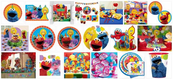 Sesame Street party themes, Sesame Street clip art