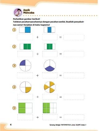 Kunci Jawaban Matematika Kelas 5 Halaman 7 : kunci, jawaban, matematika, kelas, halaman, Kunci, Jawaban, Senang, Belajar, Matematika, Kelas, Kurikulum, Revisi, Halaman