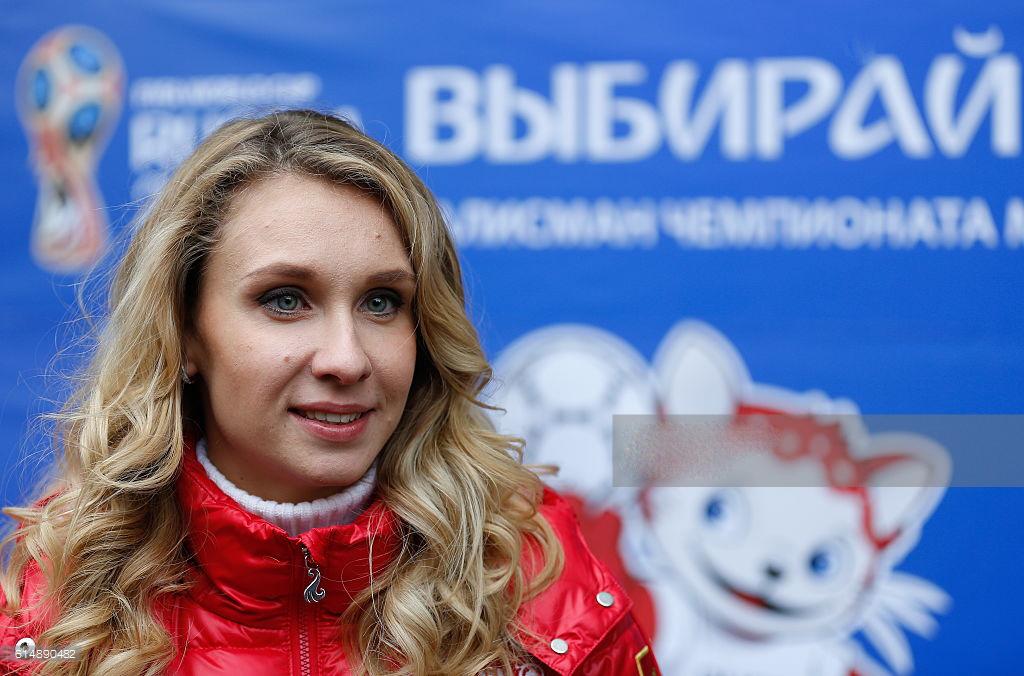 Svetlana Romashina cewek manis bibir merah