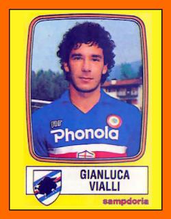 Gianluca Vialli with Sampdoria.