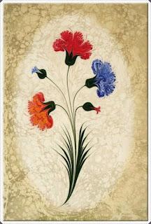 Elişi Ebru Sanatı Örnekleri 4