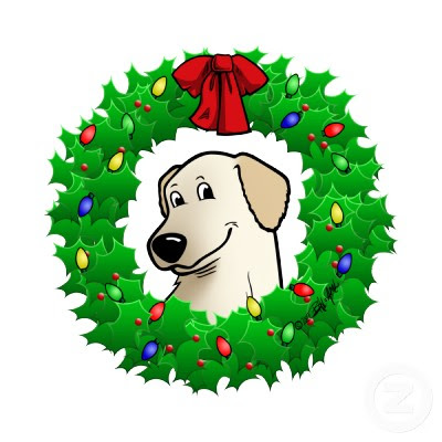 Christmas Wreaths Cartoon Picture And Wallpaper