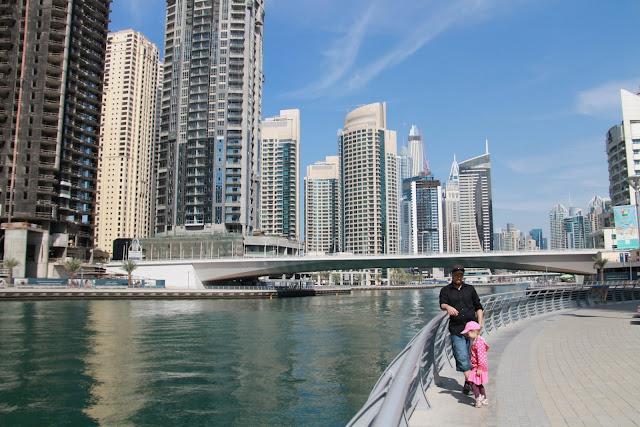 Dubai Marina lasten kanssa