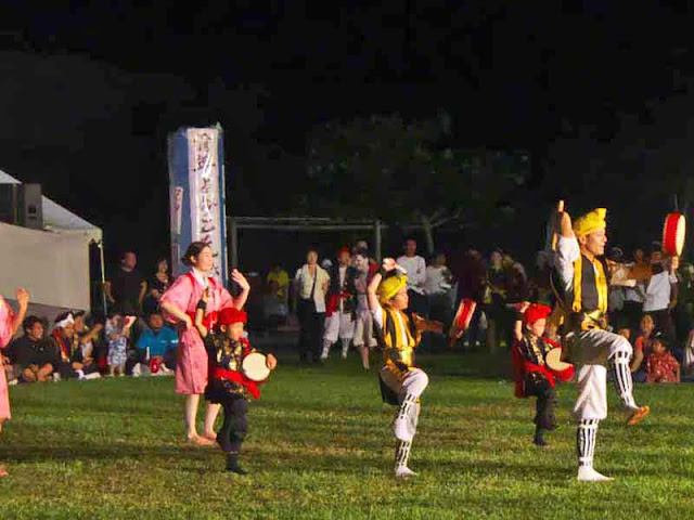 children, dancers, Eisa, festival, matsuri, Okinawa