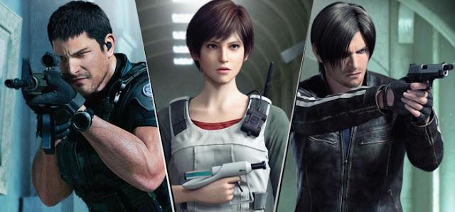 La historia de Resident Evil Vendetta Chris Leon Rebecca