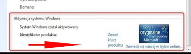 معرفة تفعيل نظام ويندوز 7