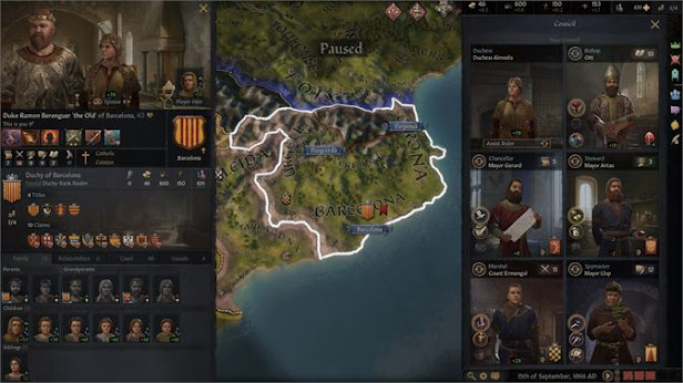 Crusader Kings 3 power and progression