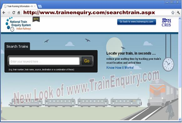 indian train enquiry system