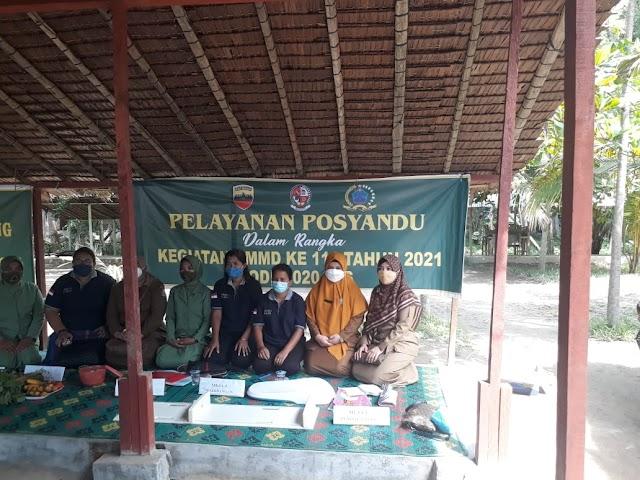 Satgas TMMD ke-111 Kodim 0204/DS Buka Posyandu Bagi Warga
