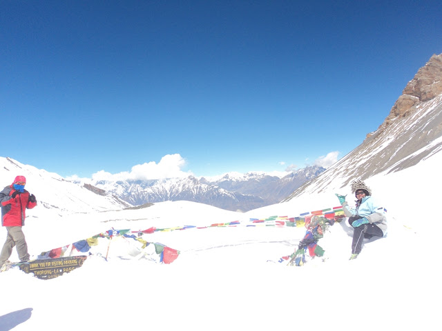 Thorong-la Pass, the biggest pass in the world